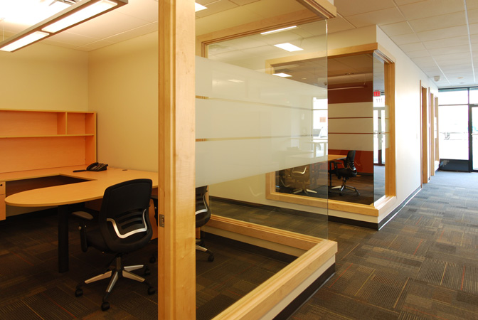 Id8 interior design victoria bc westhills land corporation for Office design open concept